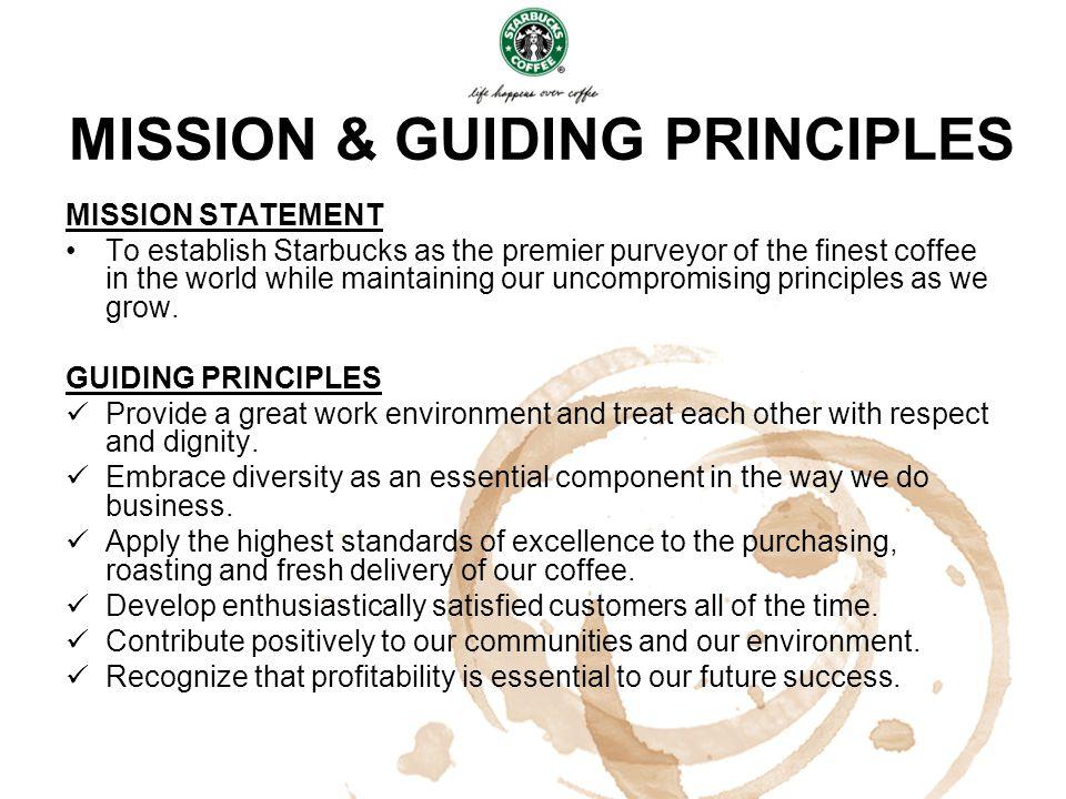 MISSION & GUIDING PRINCIPLES
