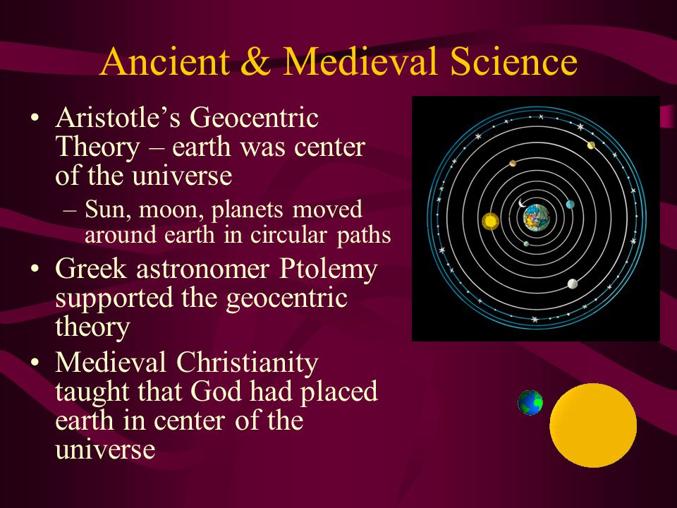 Ancient & Medieval Science