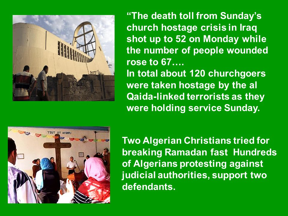 The death toll from Sunday's church hostage crisis in Iraq shot up to 52 on Monday while the number of people wounded rose to 67….