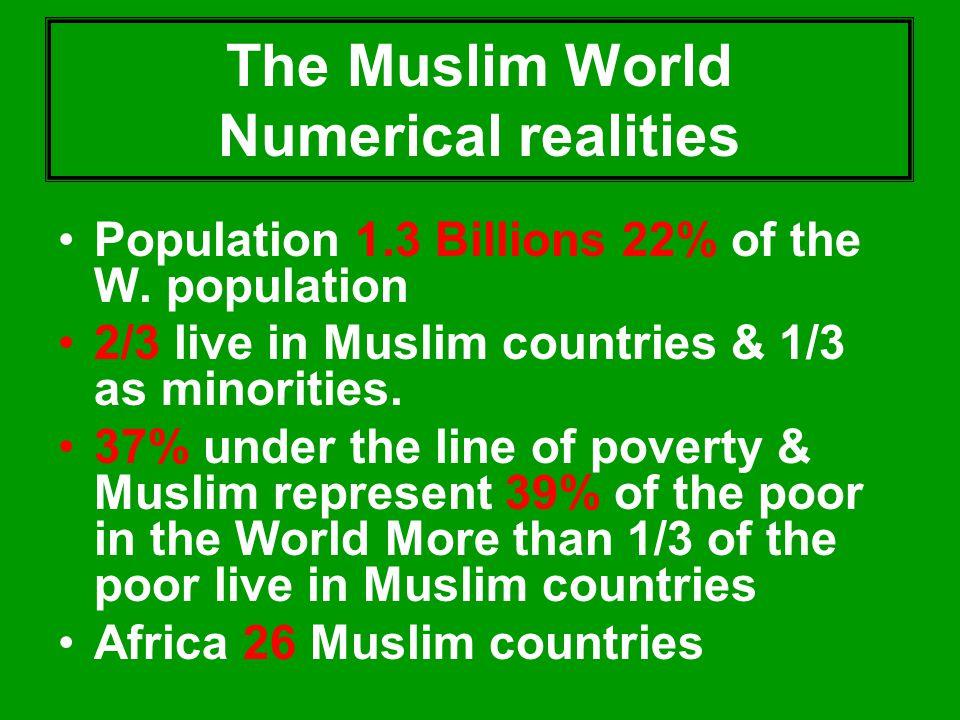The Muslim World Numerical realities