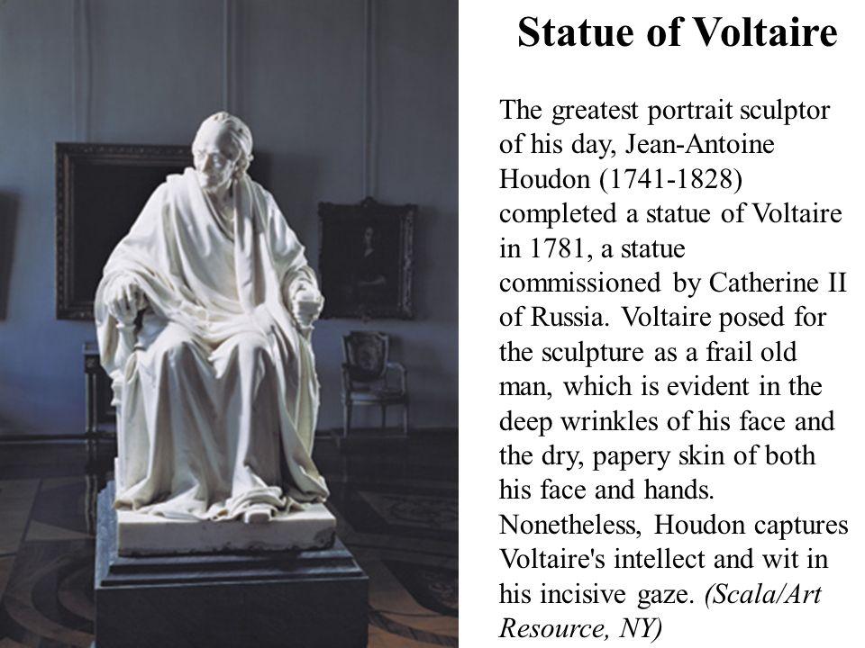 Statue of Voltaire