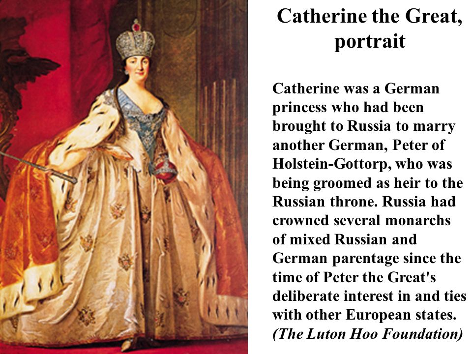 Catherine the Great, portrait