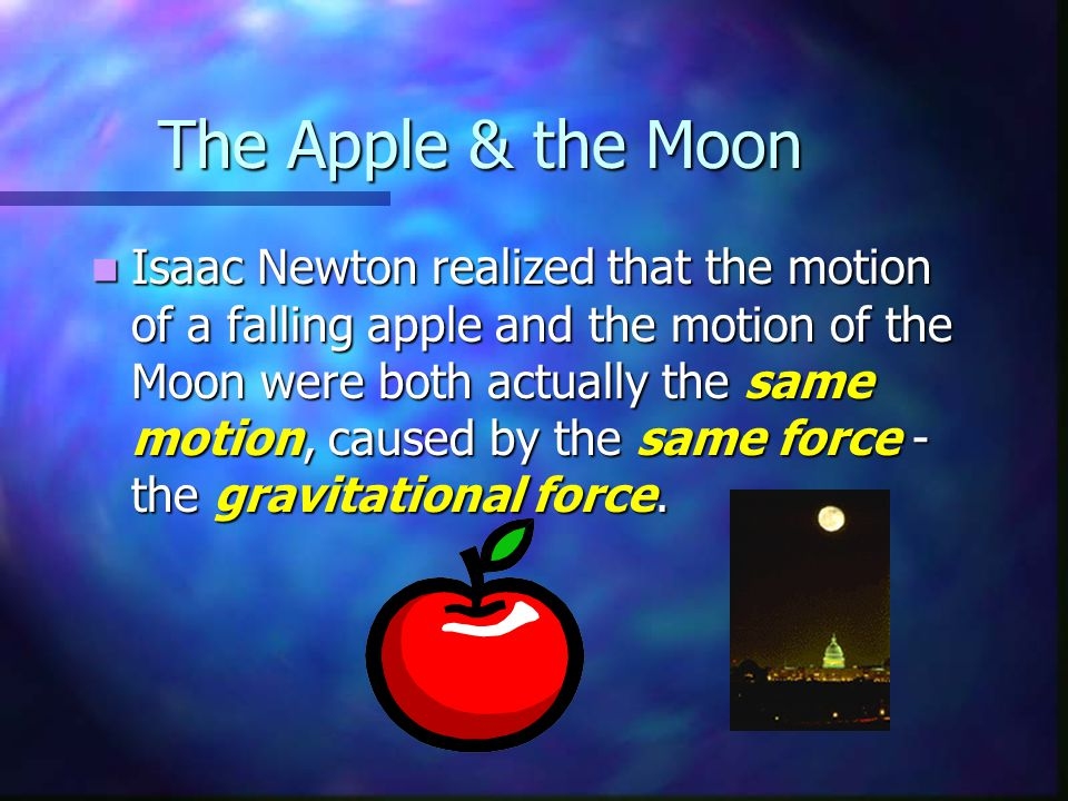 The Apple & the Moon