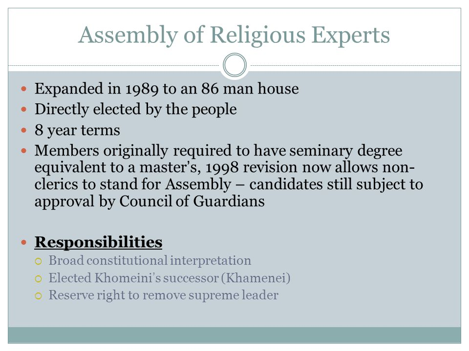 Assembly of Religious Experts