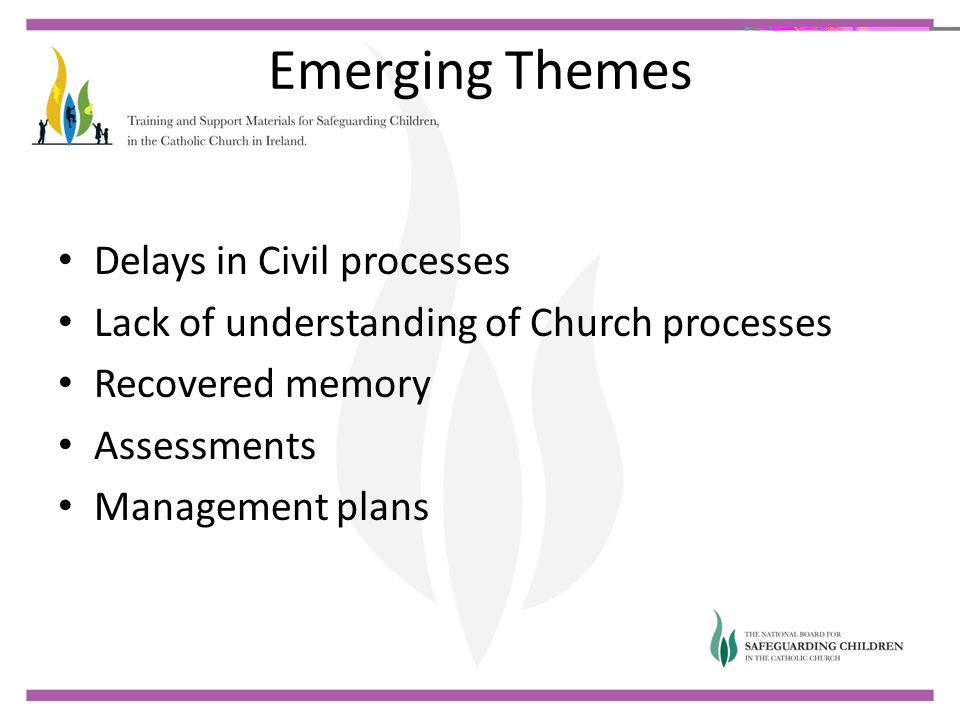Emerging Themes Delays in Civil processes