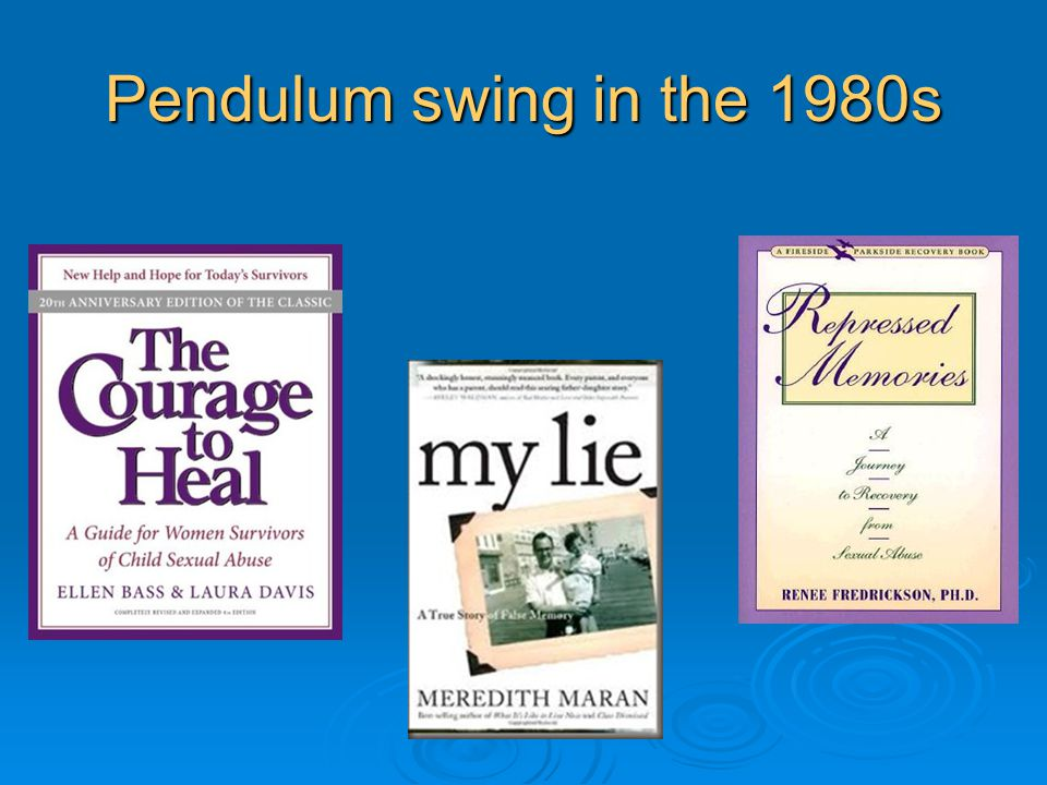 Pendulum swing in the 1980s