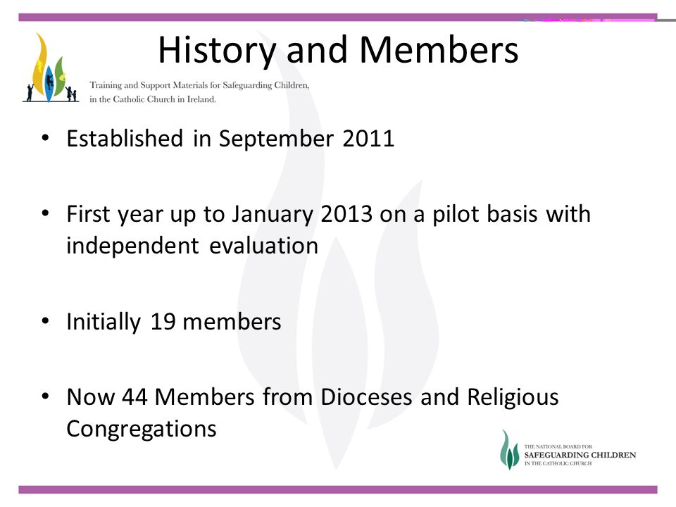 History and Members Established in September 2011