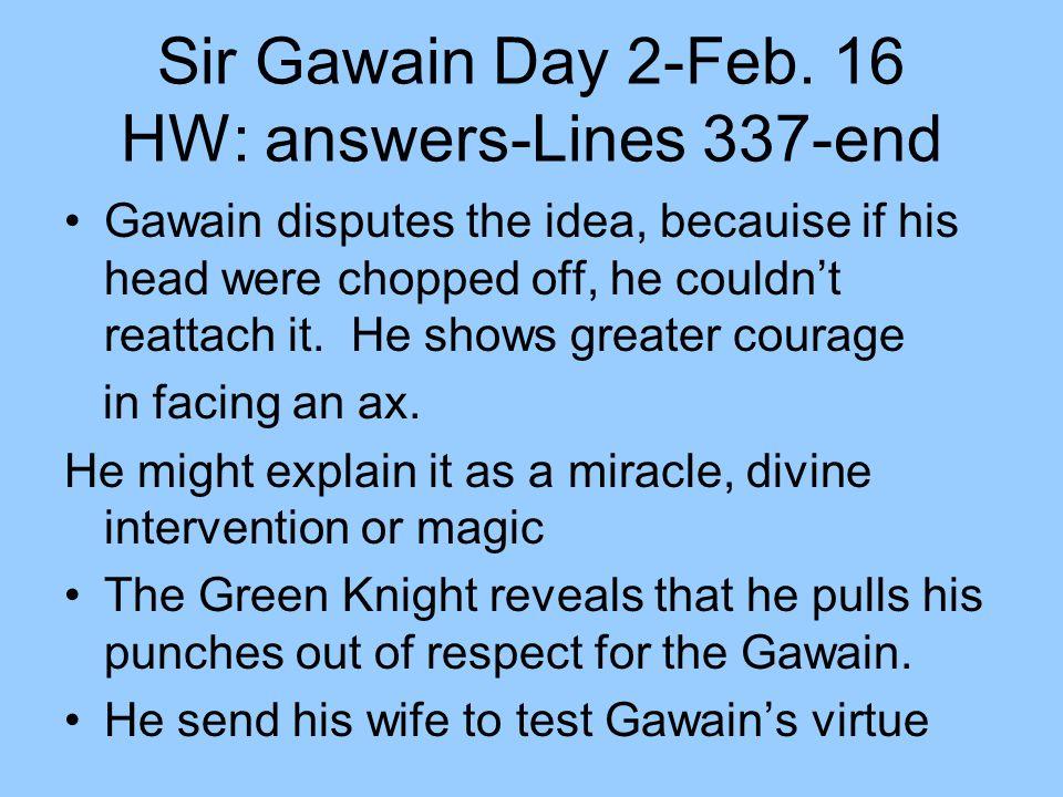 Sir Gawain Day 2-Feb. 16 HW: answers-Lines 337-end