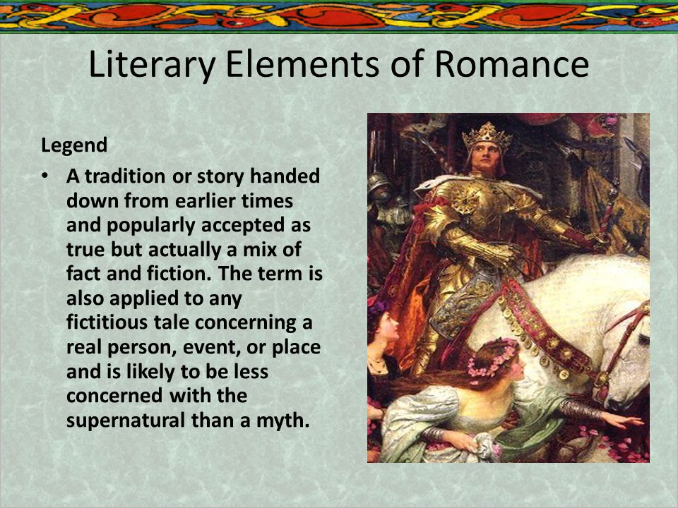 Literary Elements of Romance