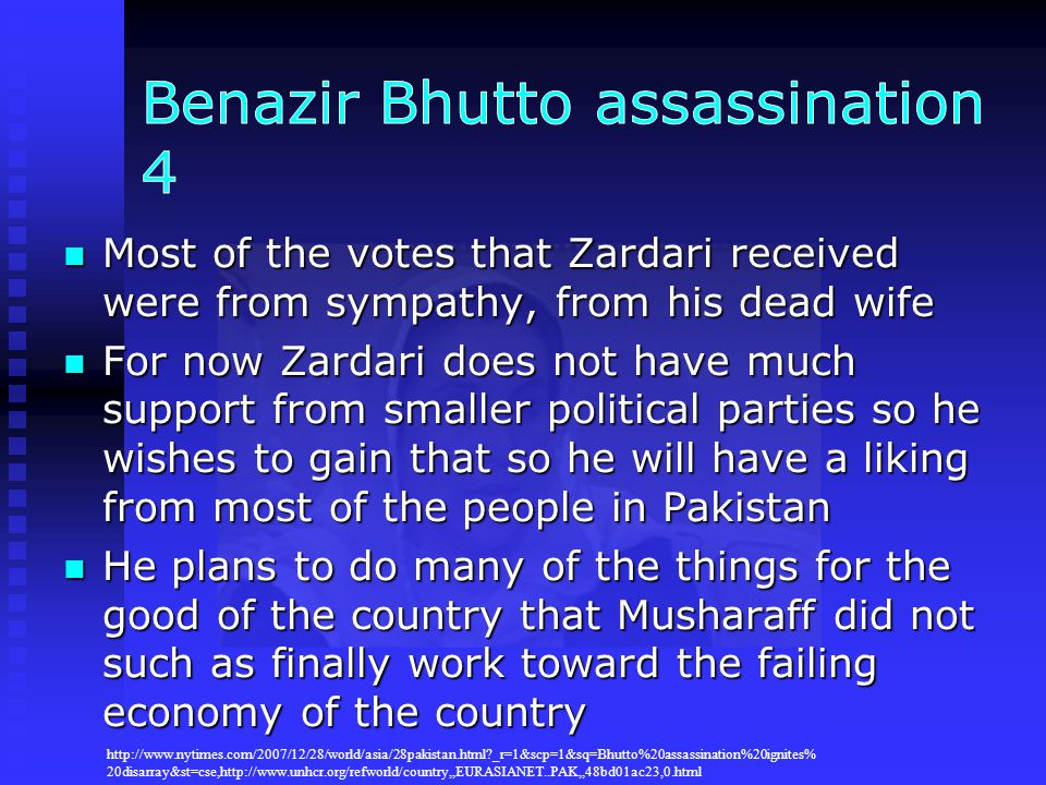 Benazir Bhutto assassination 4