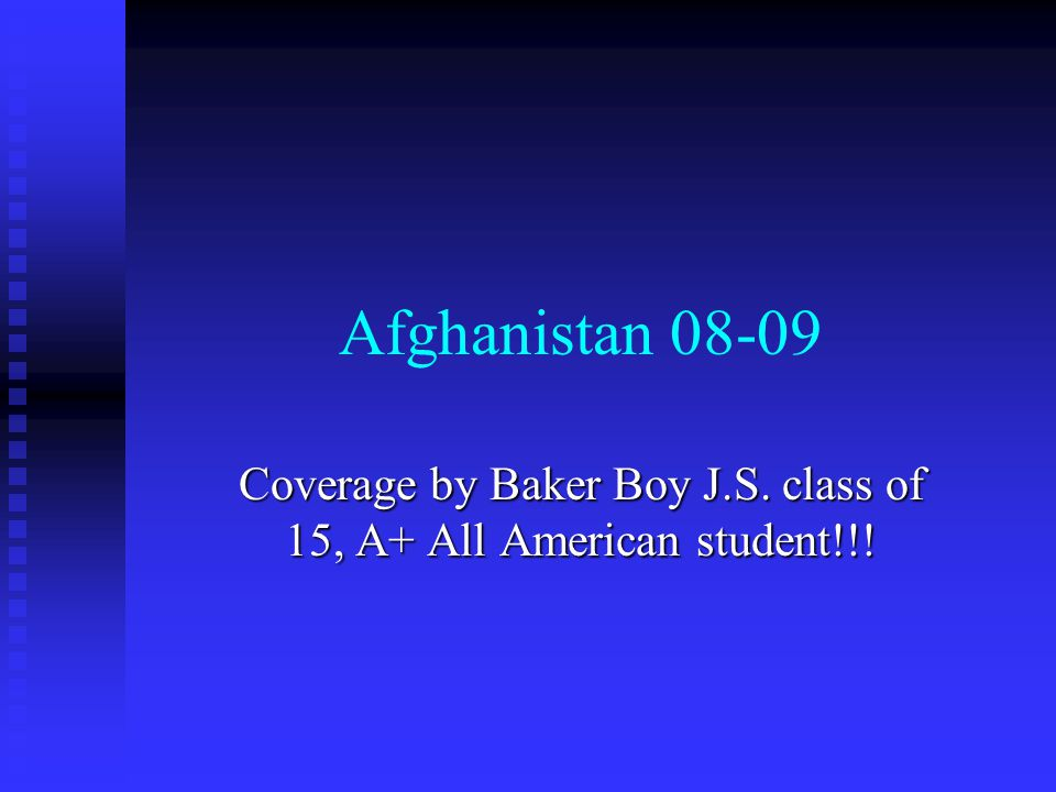 Coverage by Baker Boy J.S. class of 15, A+ All American student!!!