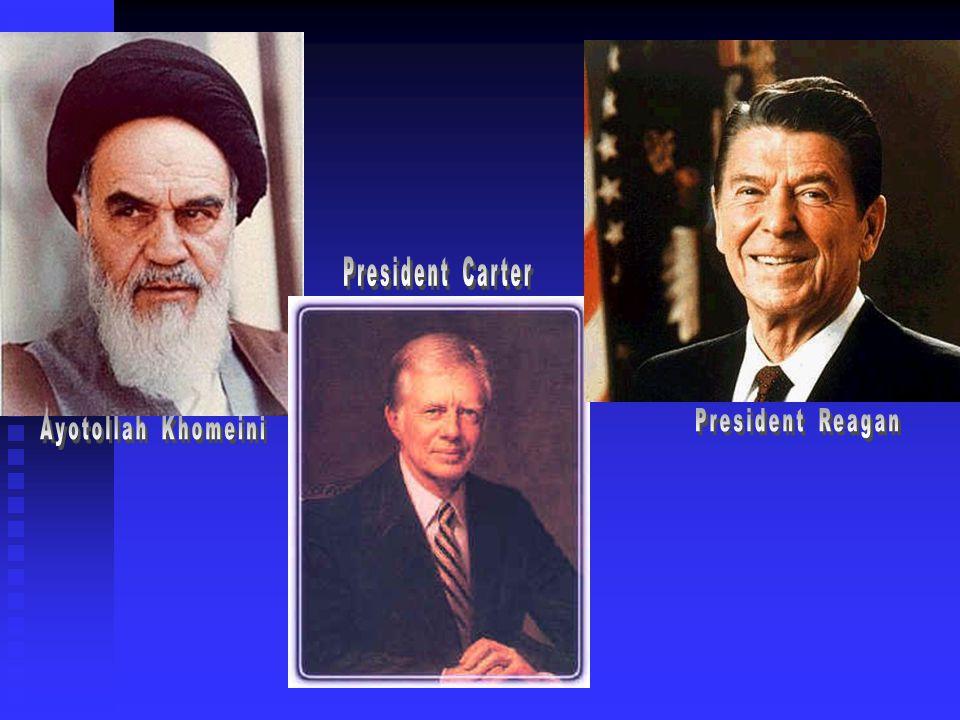 President Carter President Reagan Ayotollah Khomeini