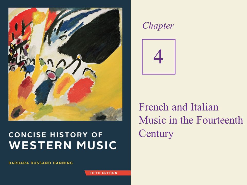 French and Italian Music in the Fourteenth Century