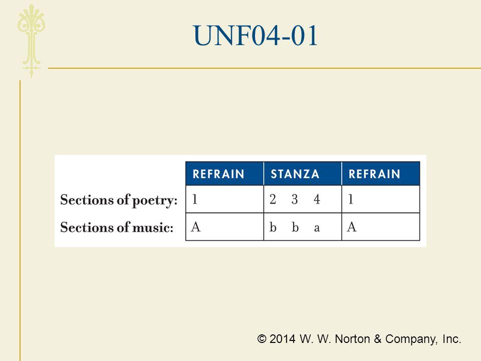 UNF04-01 © 2014 W. W. Norton & Company, Inc.