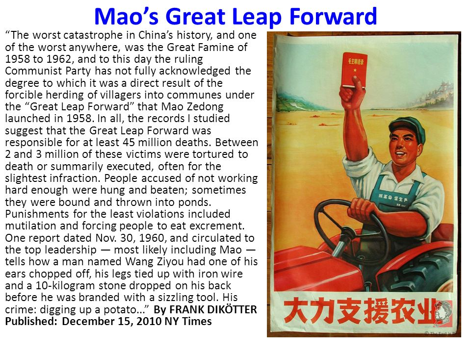 Mao's Great Leap Forward