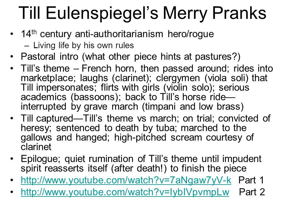 Till Eulenspiegel's Merry Pranks