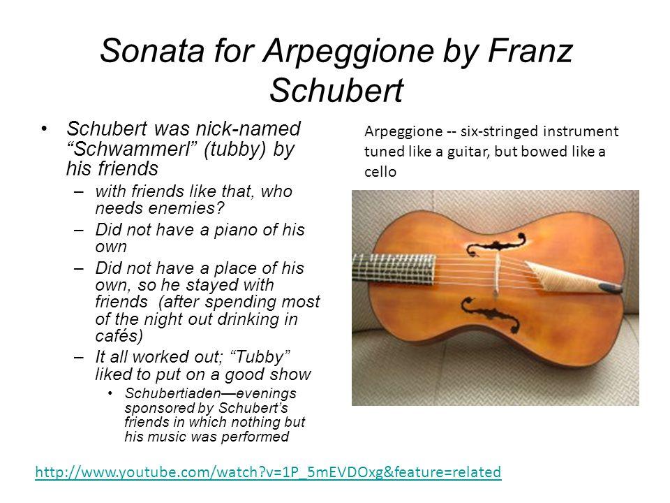 Sonata for Arpeggione by Franz Schubert