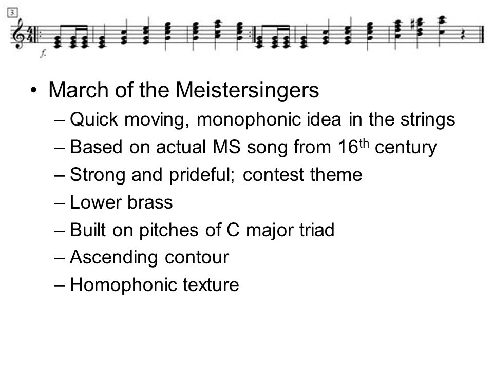 March of the Meistersingers