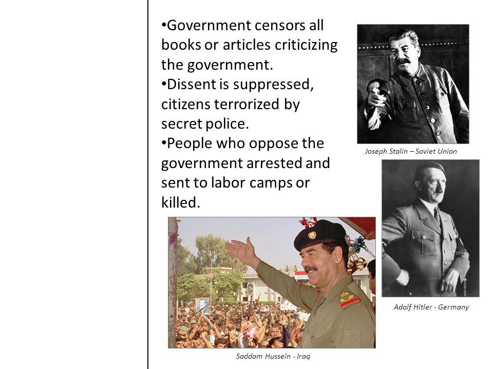 Joseph Stalin – Soviet Union