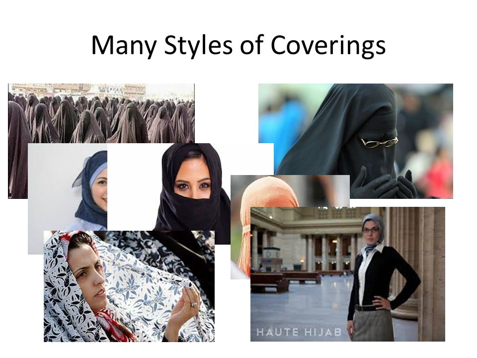 Many Styles of Coverings