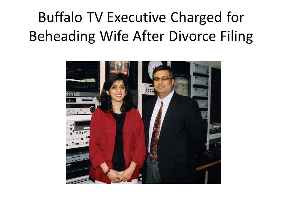 Buffalo TV Executive Charged for Beheading Wife After Divorce Filing