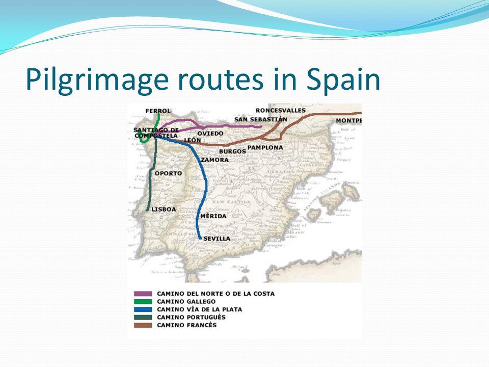 Pilgrimage routes in Spain