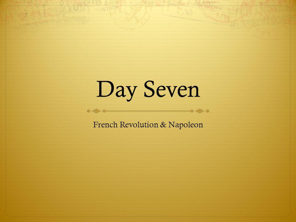 French Revolution & Napoleon