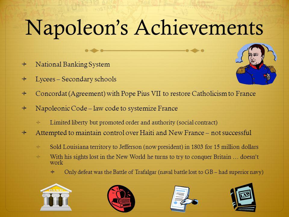 Napoleon's Achievements