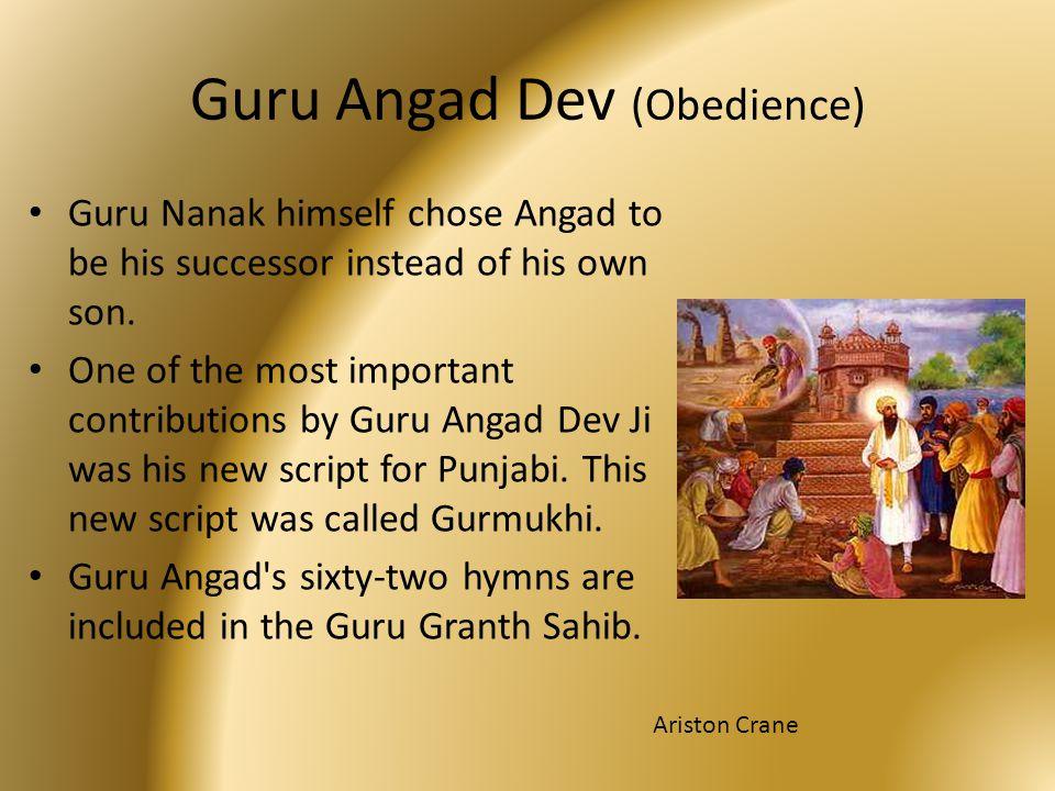 Guru Angad Dev (Obedience)