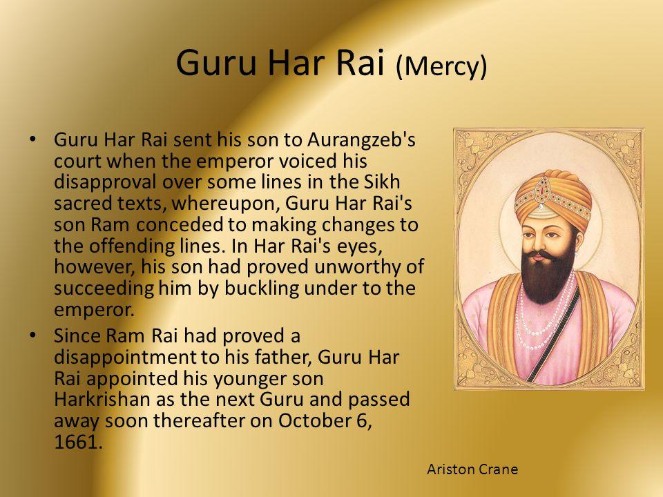 Guru Har Rai (Mercy)
