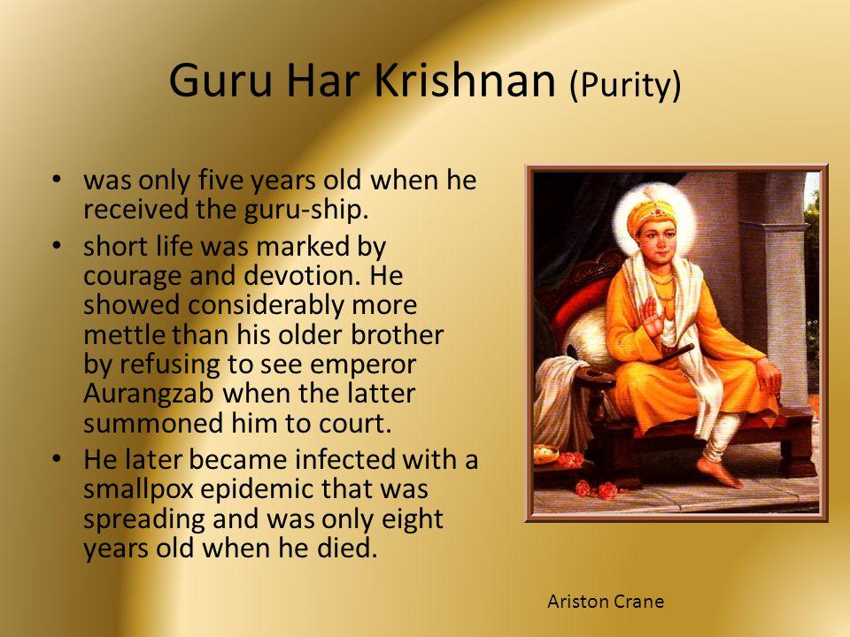 Guru Har Krishnan (Purity)
