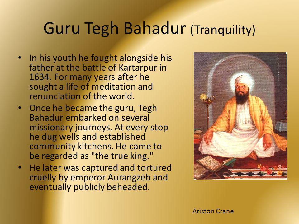Guru Tegh Bahadur (Tranquility)