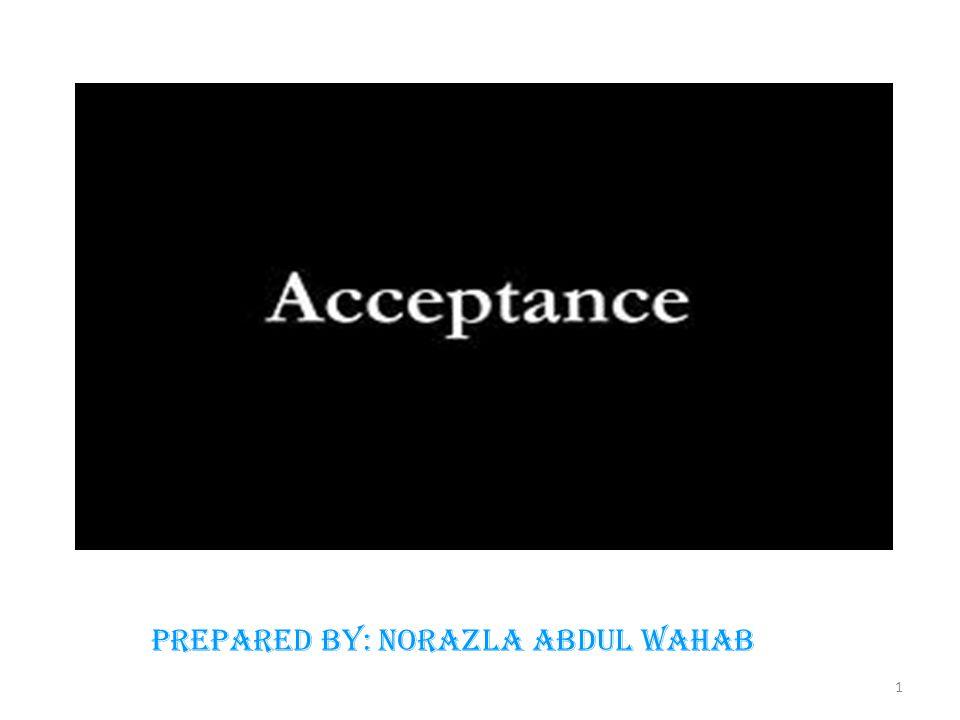 Prepared by: Norazla Abdul Wahab