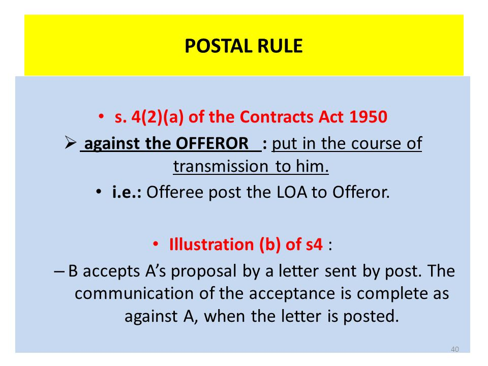 s. 4(2)(a) of the Contracts Act 1950