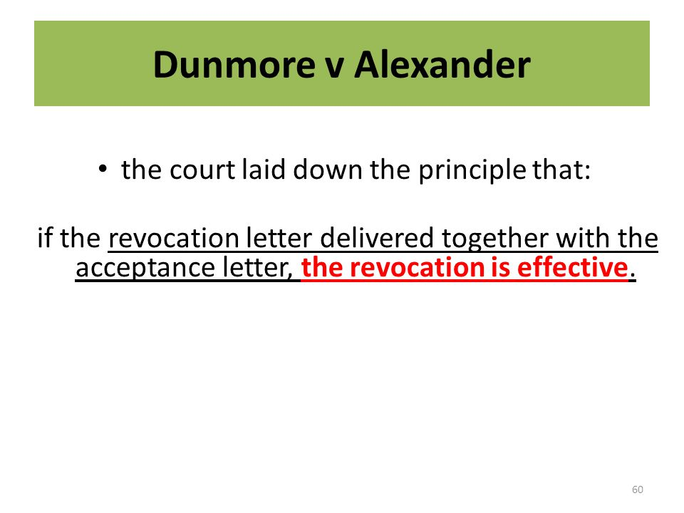 the court laid down the principle that: