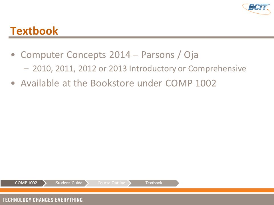 Textbook Computer Concepts 2014 – Parsons / Oja