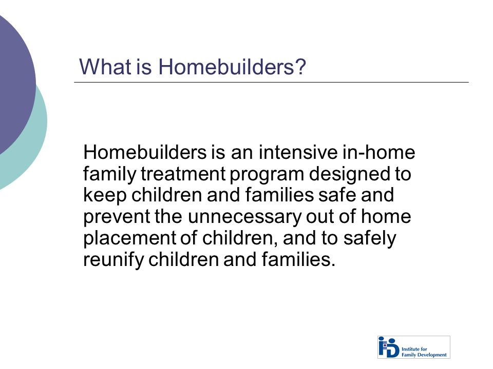 What is Homebuilders
