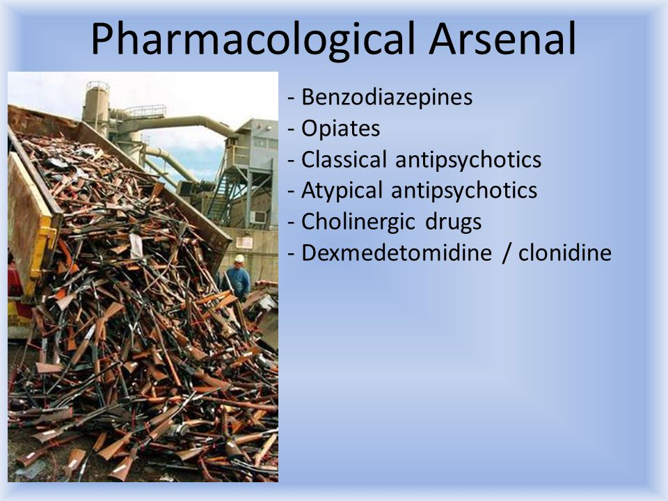 Pharmacological Arsenal