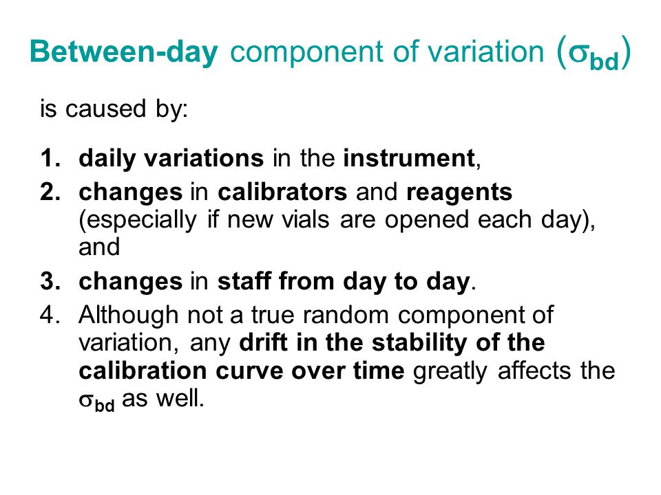 Between-day component of variation (bd)