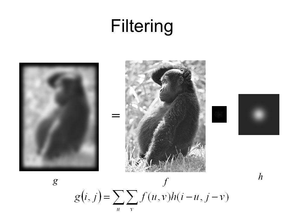 Filtering = h g f