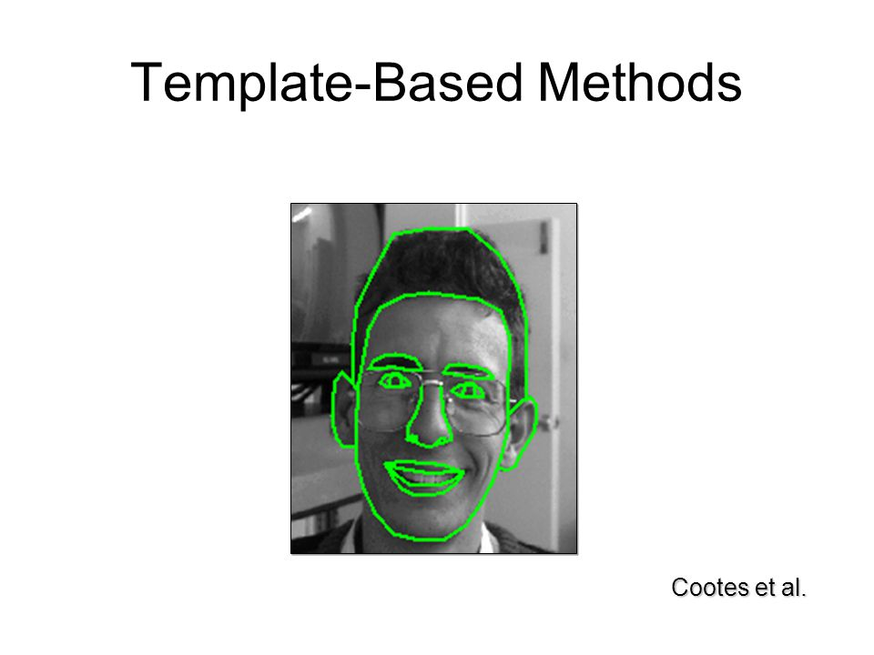 Template-Based Methods