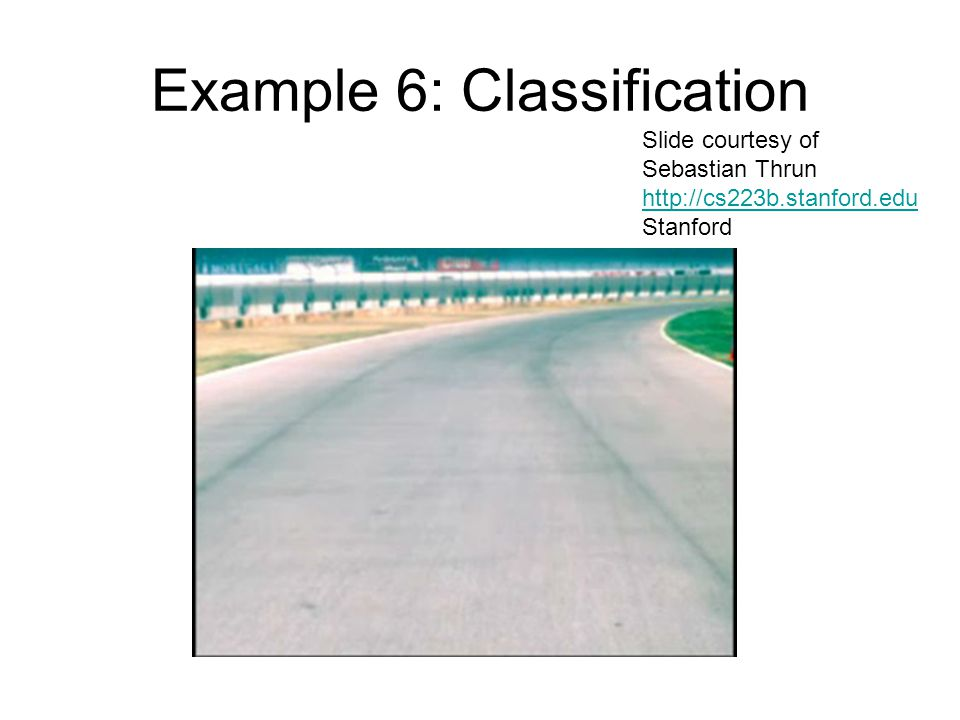 Example 6: Classification