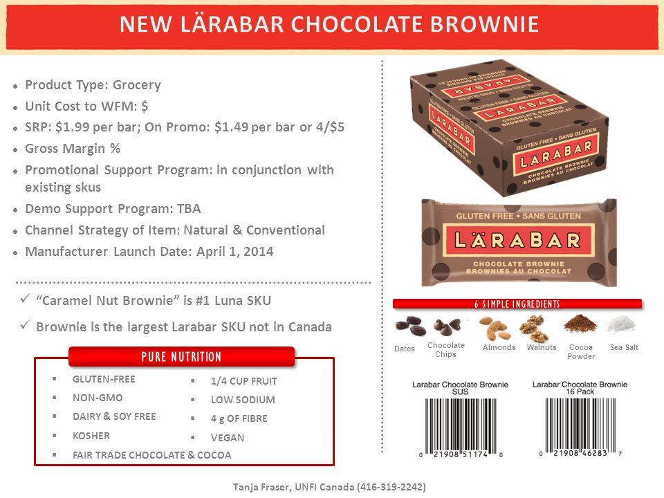 NEW LÄRABAR CHOCOLATE BROWNIE