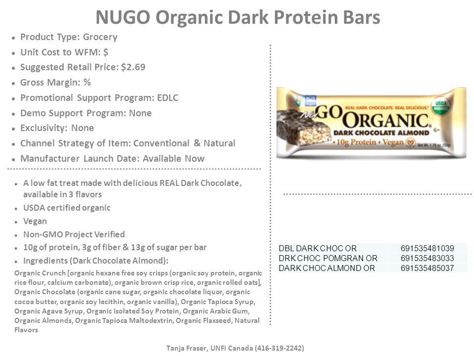 NUGO Organic Dark Protein Bars