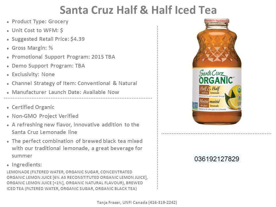 Santa Cruz Half & Half Iced Tea