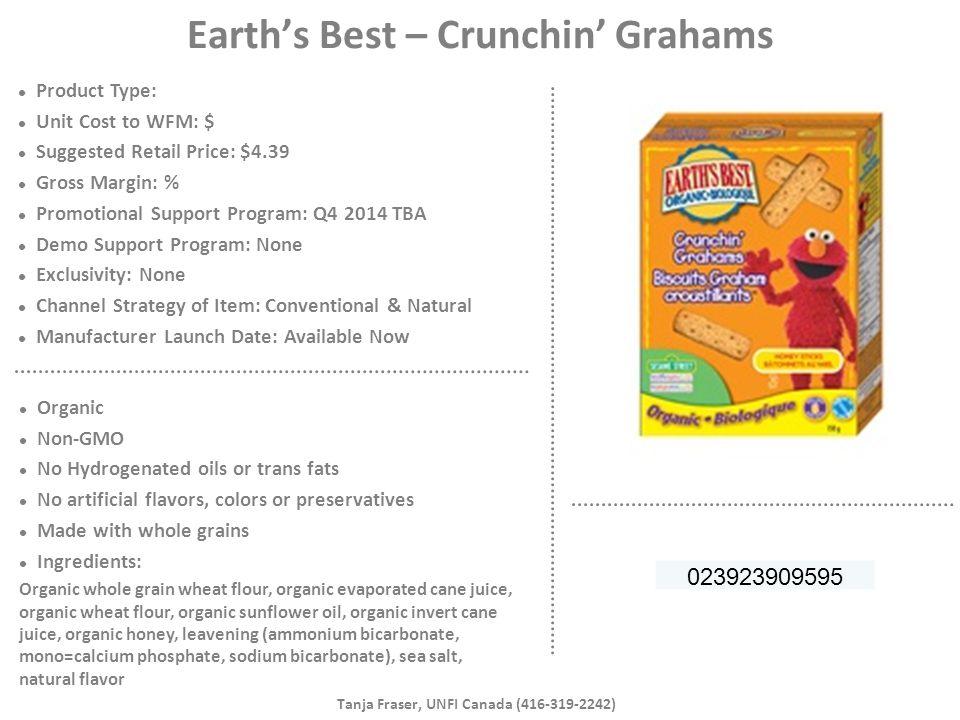 Earth's Best – Crunchin' Grahams