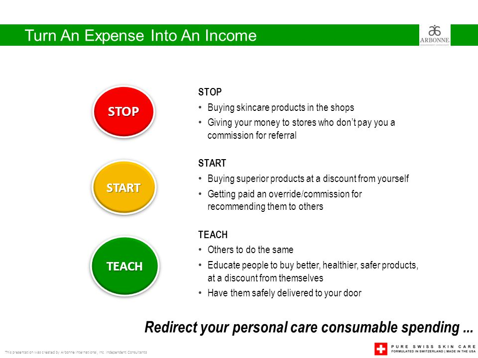 Turn An Expense Into An Income