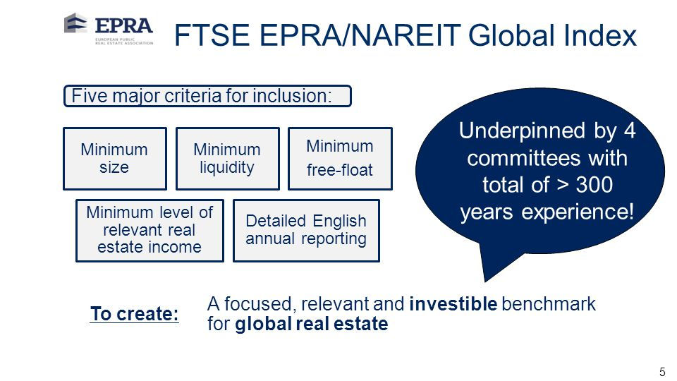 FTSE EPRA/NAREIT Global Index
