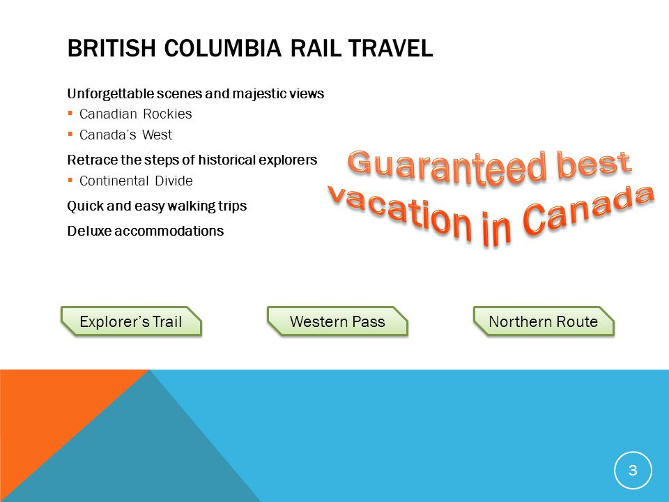 British Columbia Rail Travel