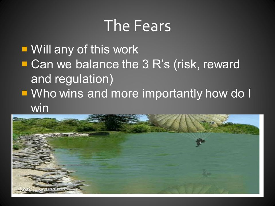 The Fears Will any of this work
